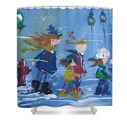 Hurry Home Shower Curtain