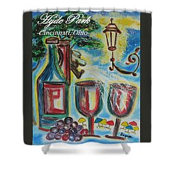 Hyde Park Square - Cincinnati Ohio Shower Curtain by Diane Pape