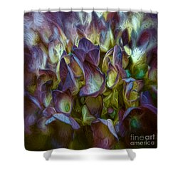 Hydrangea Joy Shower Curtain