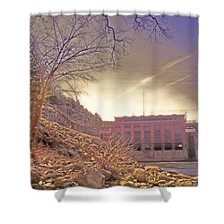Hydro Electric Dam  N Shower Curtain