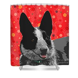 I Am All Ears Shower Curtain by Nola Lee Kelsey