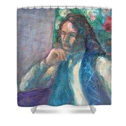 I Am Heathcliff - Original Painting  Shower Curtain
