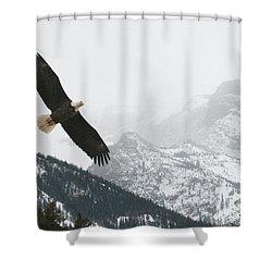 I Am The Eagle Shower Curtain