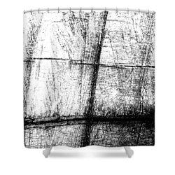 Rough Cut Shower Curtain