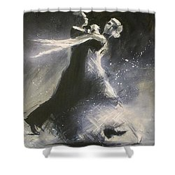 I Could Have Danced All Night Shower Curtain