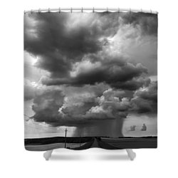 I Don't Know Where I'm Going Shower Curtain
