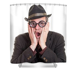 I Forgot Your Birthday Shower Curtain by Edward Fielding