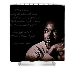 Shower Curtain featuring the photograph I Have A Dream by Maciek Froncisz