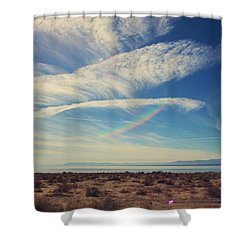 I Hope And I Dream Shower Curtain by Laurie Search