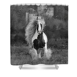 I Hope You're In A Beautiful Place Shower Curtain by Fran J Scott