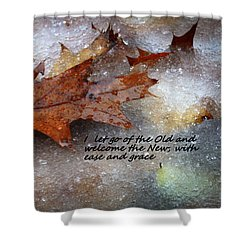 Shower Curtain featuring the photograph I Let Go by Patrice Zinck