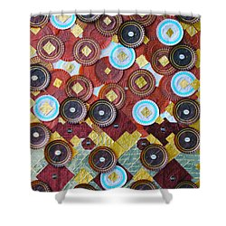 Shower Curtain featuring the photograph I Love Chocolates by Lorna Maza