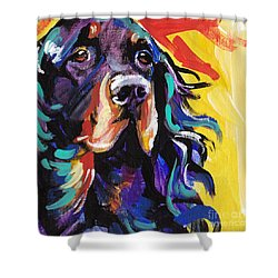 I Love Gordon Shower Curtain by Lea S