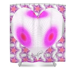 I Love You And No One Else Shower Curtain by PainterArtist FIN