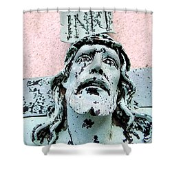 I N R E  Shower Curtain by Ed Weidman