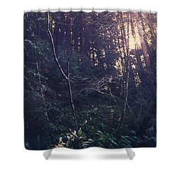 I Realize Shower Curtain by Laurie Search