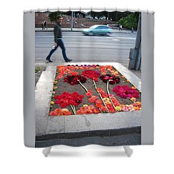 I See Flowers For You Everywhere Shower Curtain by Mary Lee Dereske