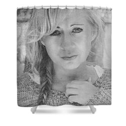 I Still Breathe Your Name Shower Curtain by Laurie Search