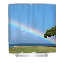 I Want To Be There Shower Curtain by Brian Harig