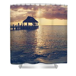 I Will Feel Eternity Shower Curtain by Laurie Search