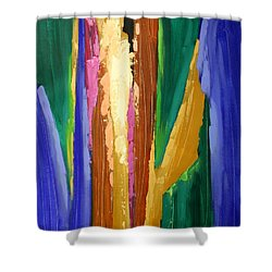 I Will Never Leave You Shower Curtain by Anthony Falbo