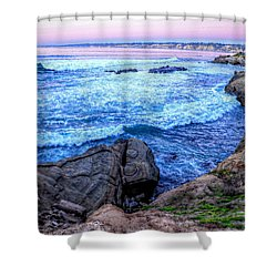 I Will Put You In A Cleft In The Rock Shower Curtain by Sharon Soberon