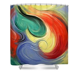 I Will Supply All Your Needs Shower Curtain by Anthony Falbo