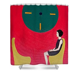 I Will Wait Forever Shower Curtain by Patrick J Murphy