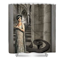 I Wonder As I Wander Shower Curtain