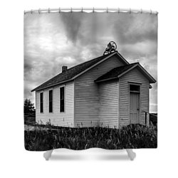 Icarian Schoolhouse Shower Curtain