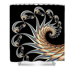 Icarus Shower Curtain by Kevin Trow