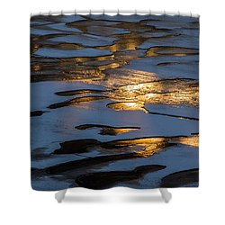 Ice And Fire - Featured 3 Shower Curtain by Alexander Senin