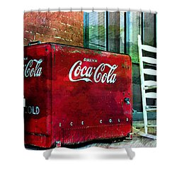 Ice Cold Coca Cola Shower Curtain