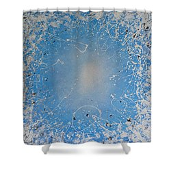 Ice Cold Sun Shower Curtain by John Pimlott