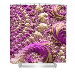 Ice Cream Social Shower Curtain by Susan Maxwell Schmidt