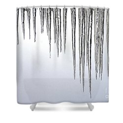 Ice Cycles Shower Curtain by Paul W Faust -  Impressions of Light