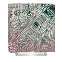 Ice Palace Shower Curtain