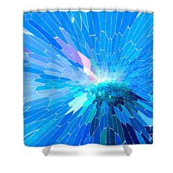 Ice Queen Shower Curtain by Mariarosa Rockefeller