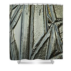 Shower Curtain featuring the photograph Ice by Yulia Kazansky