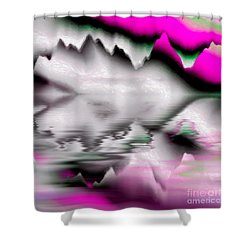 Iceberg Ahoy Shower Curtain by Dee Flouton