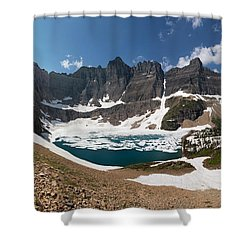 Iceberg Lake Shower Curtain by Aaron Aldrich