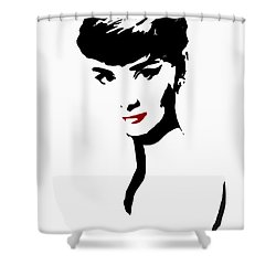 Icon Of Beauty Shower Curtain