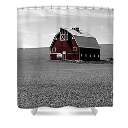 Icon Of The Palouse Shower Curtain by Sharon Elliott