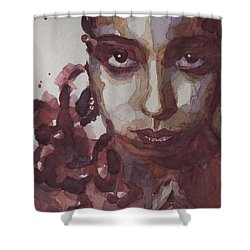 I'd Be Smiling If I Wasn't So Desperate Shower Curtain