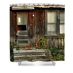 Idaho Retirement Estates Shower Curtain by Sam Rosen