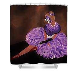 Identity Unknown Shower Curtain by Barbara St Jean