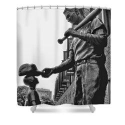 Idol Shower Curtain by Joann Vitali