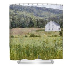 Idyllic Isolation Shower Curtain