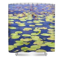 Idyllic Pond Shower Curtain by Joana Kruse