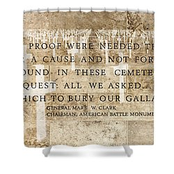 If Ever Proof Were Needed Shower Curtain